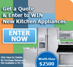 Enter to win new kitchen appliances