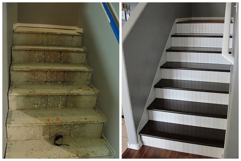 OSB stair renovation Prudent Projects