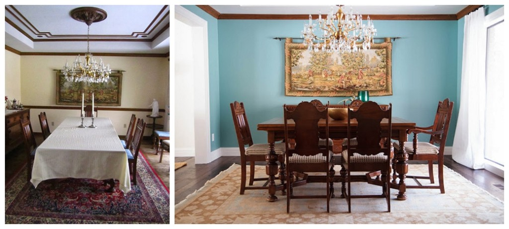 Ashley Winn dining room remodel