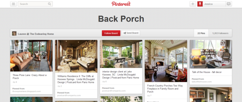 back porch home improvement pinterest board