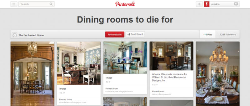 dining rooms to die for pinterest board