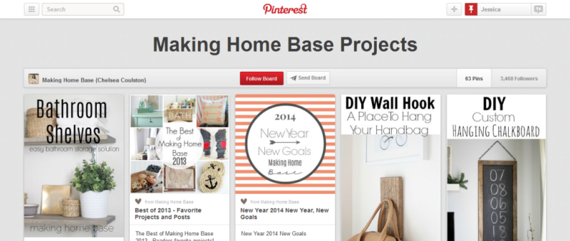 home projects pinterest board