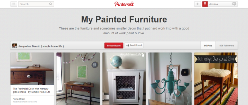 painted furniture home improvement pinterest board