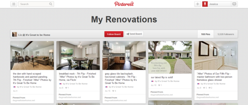my renovations home improvement pinterest board