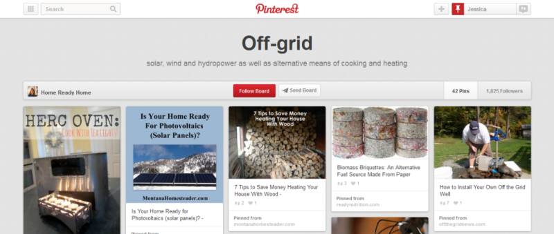 off grid home improvement pinterest board