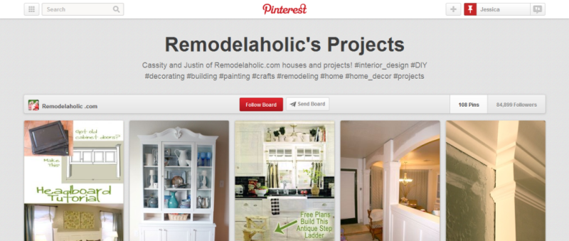remodelaholic projects pinterest board
