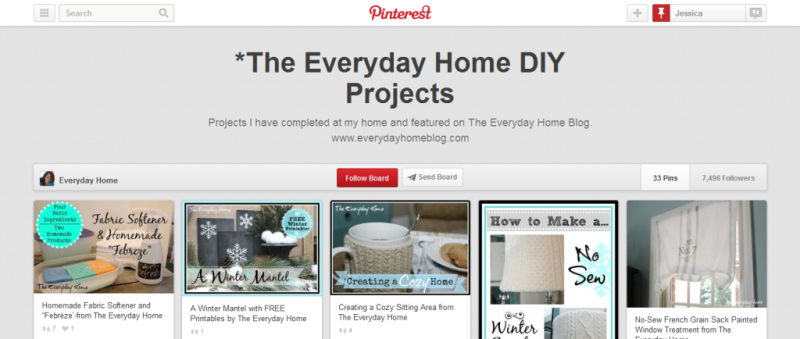 diy home projects pinterest board