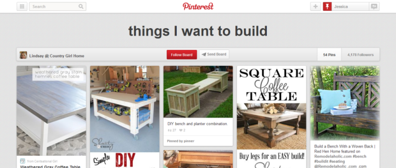 things I want to build home improvement pinterest board