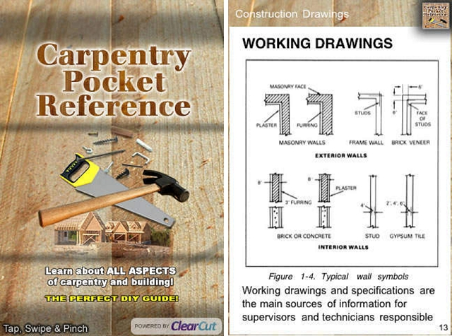 carpentry pocket reference home improvement app