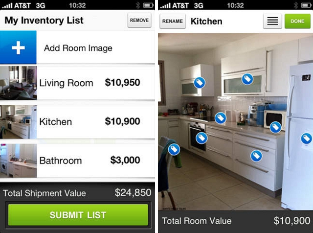 visual inventory home improvement app