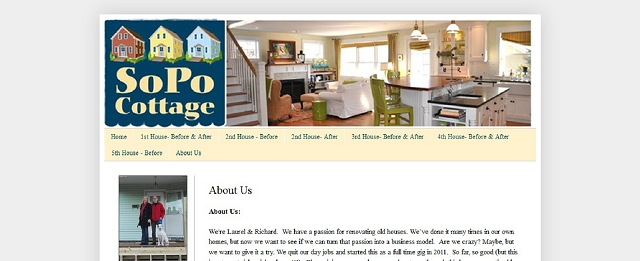 sopo cottage blog screen shot