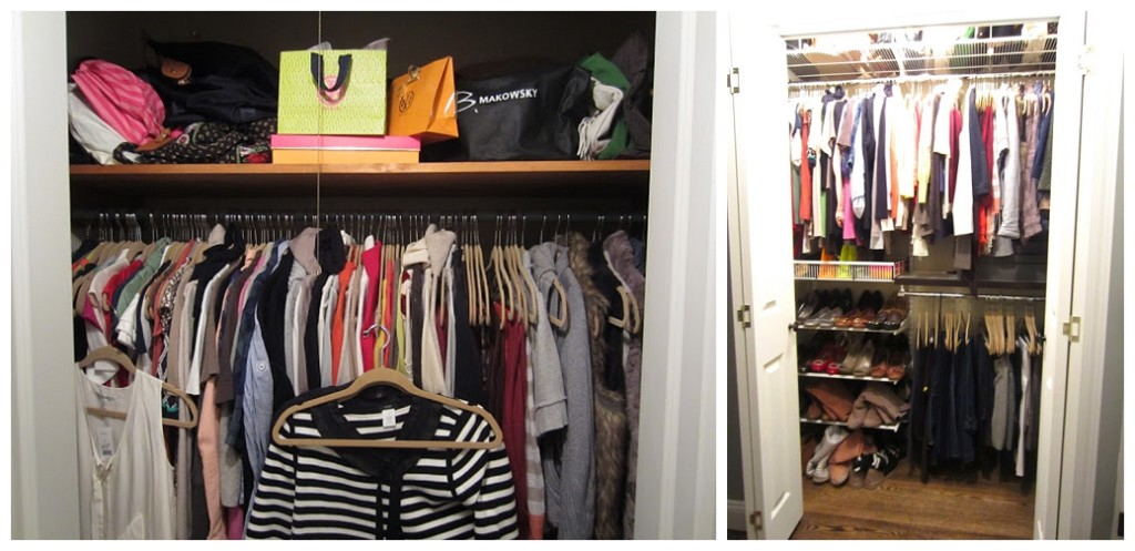 Closet Remodel Just A Touch Of Gray