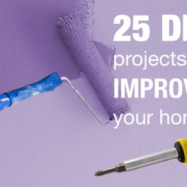 25 DIY Home Improvement Ideas