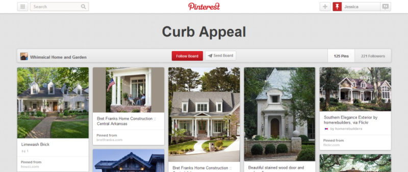 curb appeal pinterest board