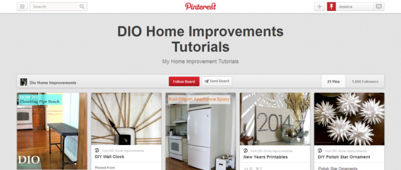 home improvement tutorials pinterest board
