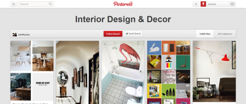 interior design and decor pinterest board