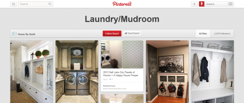 laundry mudroom pinterest board