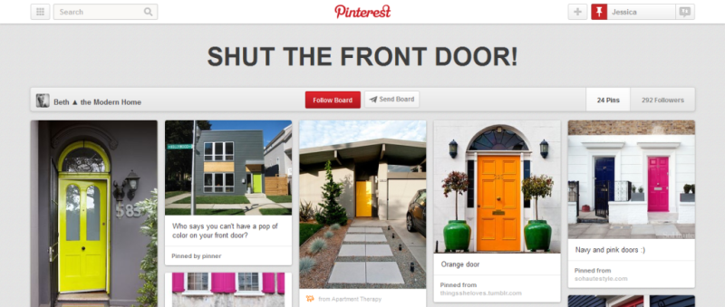 shut the front door home improvement pinterest board