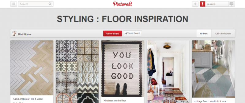 floor inspiration pinterest board
