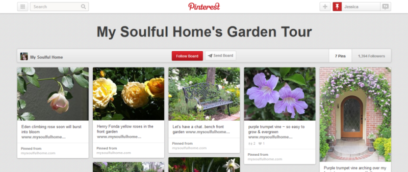 garden tour home improvement pinterest board