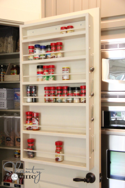 spice rack pantry door free plans