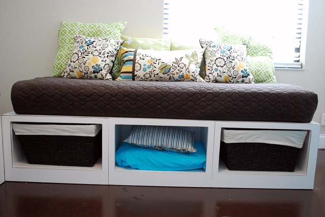 storage daybed free plans