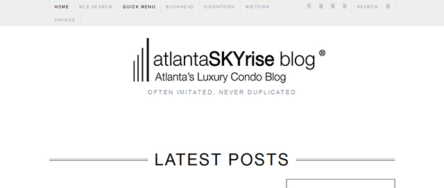atlantaskyrise condo real estate blog