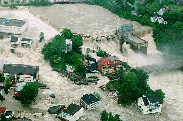 During a Flood