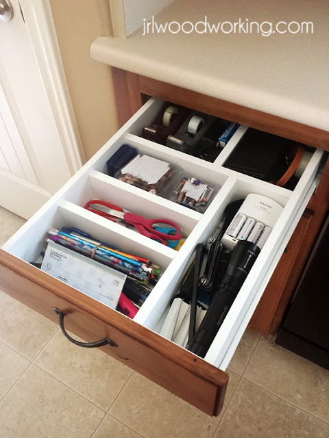 junk drawer organization free plans from jrl woodworking