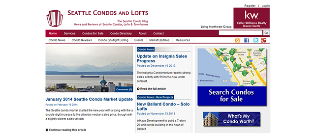 seattle condos and lofts condo real estate blog