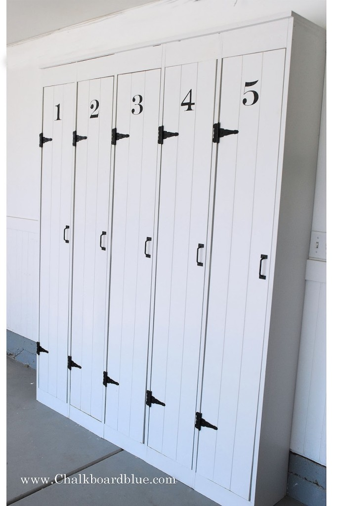 pottery barn lockers free plans