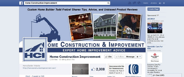 home construction improvement best facebook pages for home improvement
