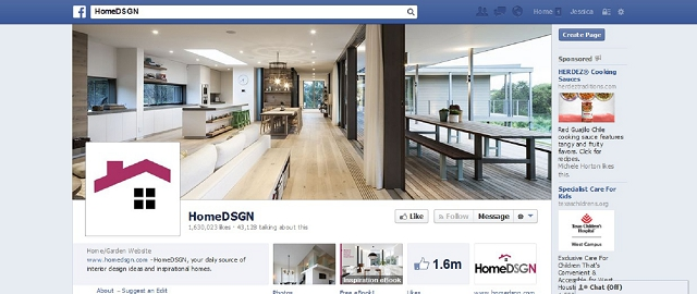 homedsgn home improvement facebook page screen shot best facebook pages for home improvement
