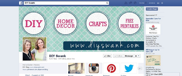 diy swank home improvement facebook page screen shot best home improvement facebook pages