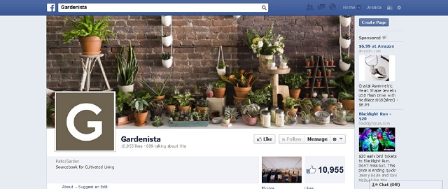gardenista facebook home improvement page screen shot facebook pages for home improvement