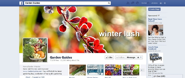 garden guides home improvement facebook page screen shot facebook pages for home improvement