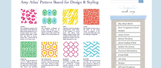 amy atlas pattern board for design and styling interior design resource