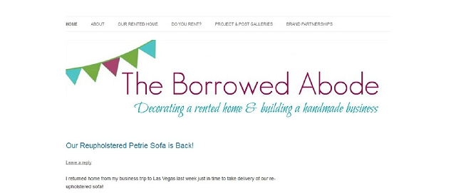 the borrowed abode apartment decorating blog