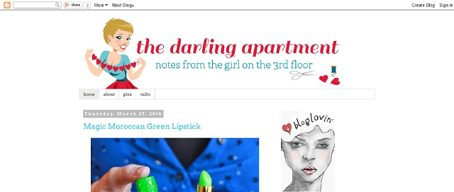 the darling apartment decorating blog screen shot