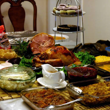 Choice Home Warranty Photo Contest:  Most Yummy Thanksgiving Table