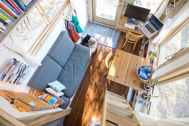 tiny house project living space