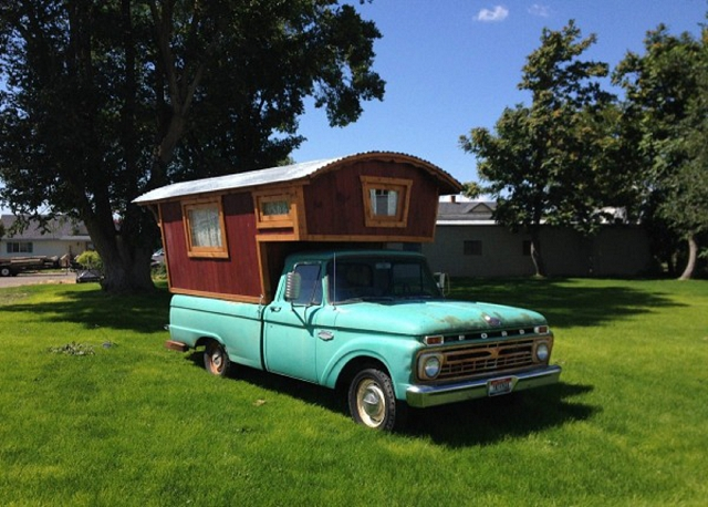 1966 ford f100 gypsy camper portable home