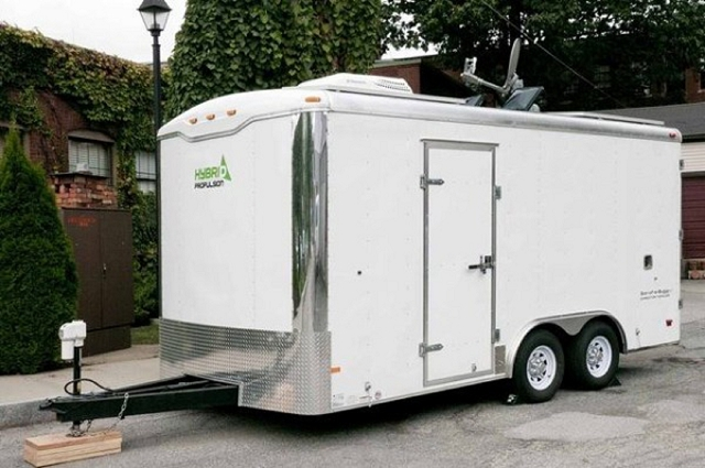 dog friendly stealth cargo trailer home