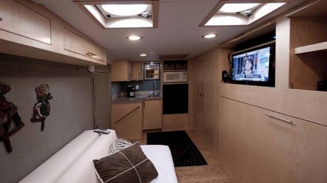 Trailer Home Inside