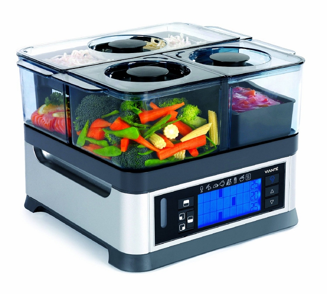 viante intellisteam counter top food steamer the most unique appliances