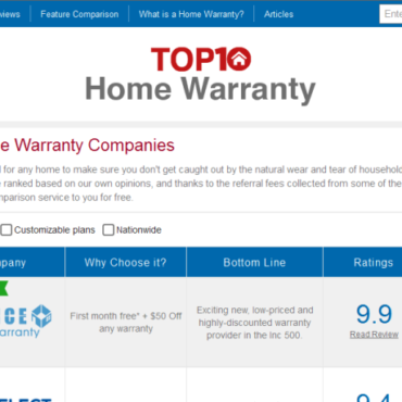 Choice Home Warranty Recognized as the #1 Home Warranty Company