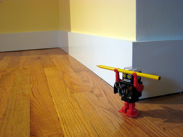 wood floor maintenance (photo by https://www.flickr.com/photos/plutor/)