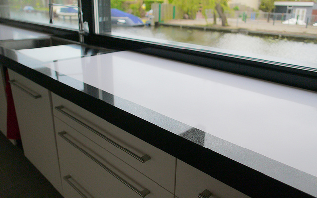 low maintenance countertop options (photo by https://www.flickr.com/photos/erbiprojects/)