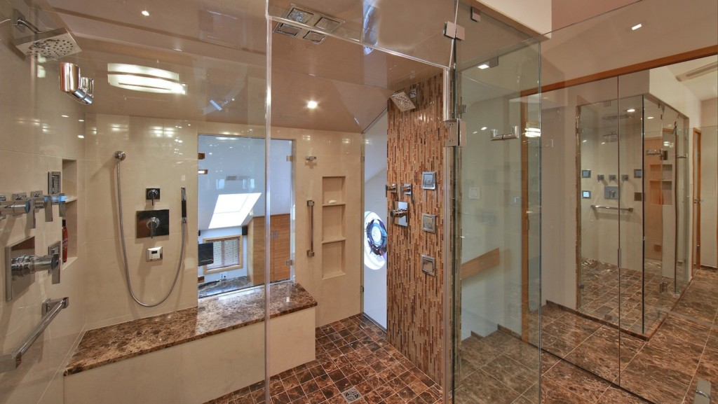 No Threshold Shower Popular Aging In Place Remodeling Projects