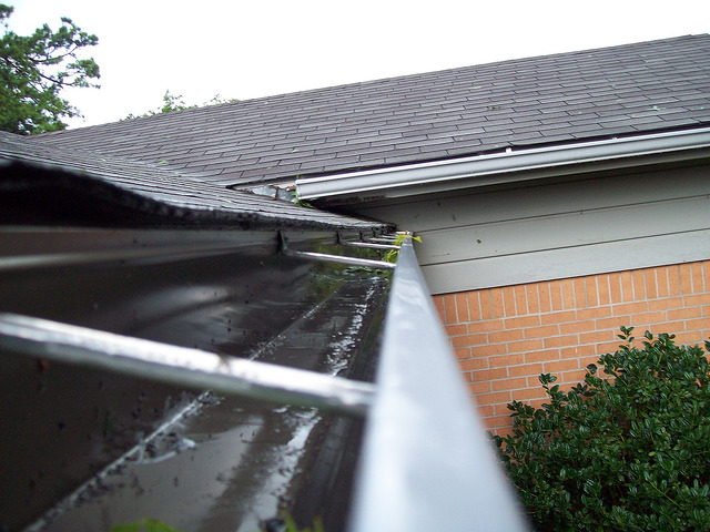 a damaged and leaking roof one of the most frustrating home repairs (photo by Flick user https://www.flickr.com/photos/18284386@N02/)